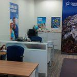 Transat Travel Office Interior